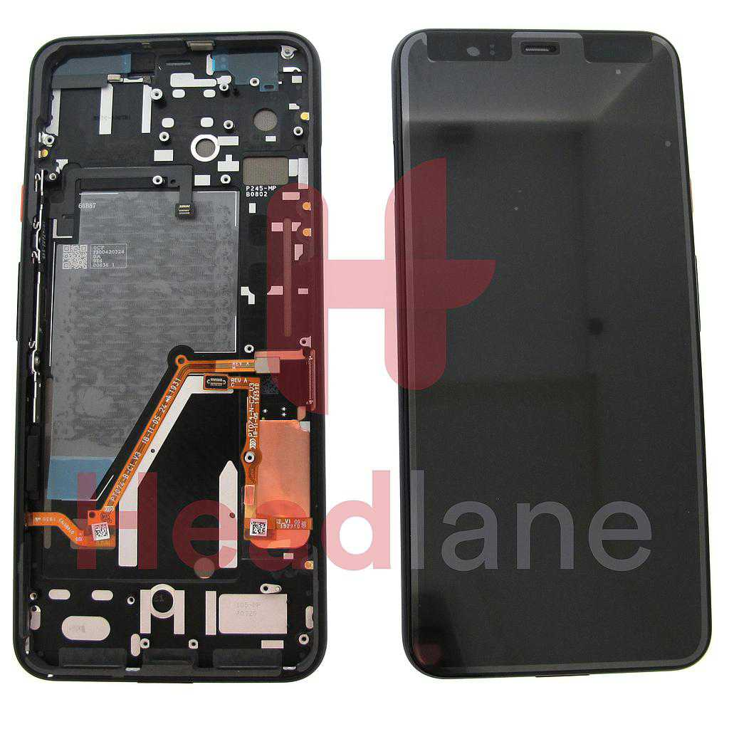 Google Pixel 4 XL LCD Display / Screen + Touch - White