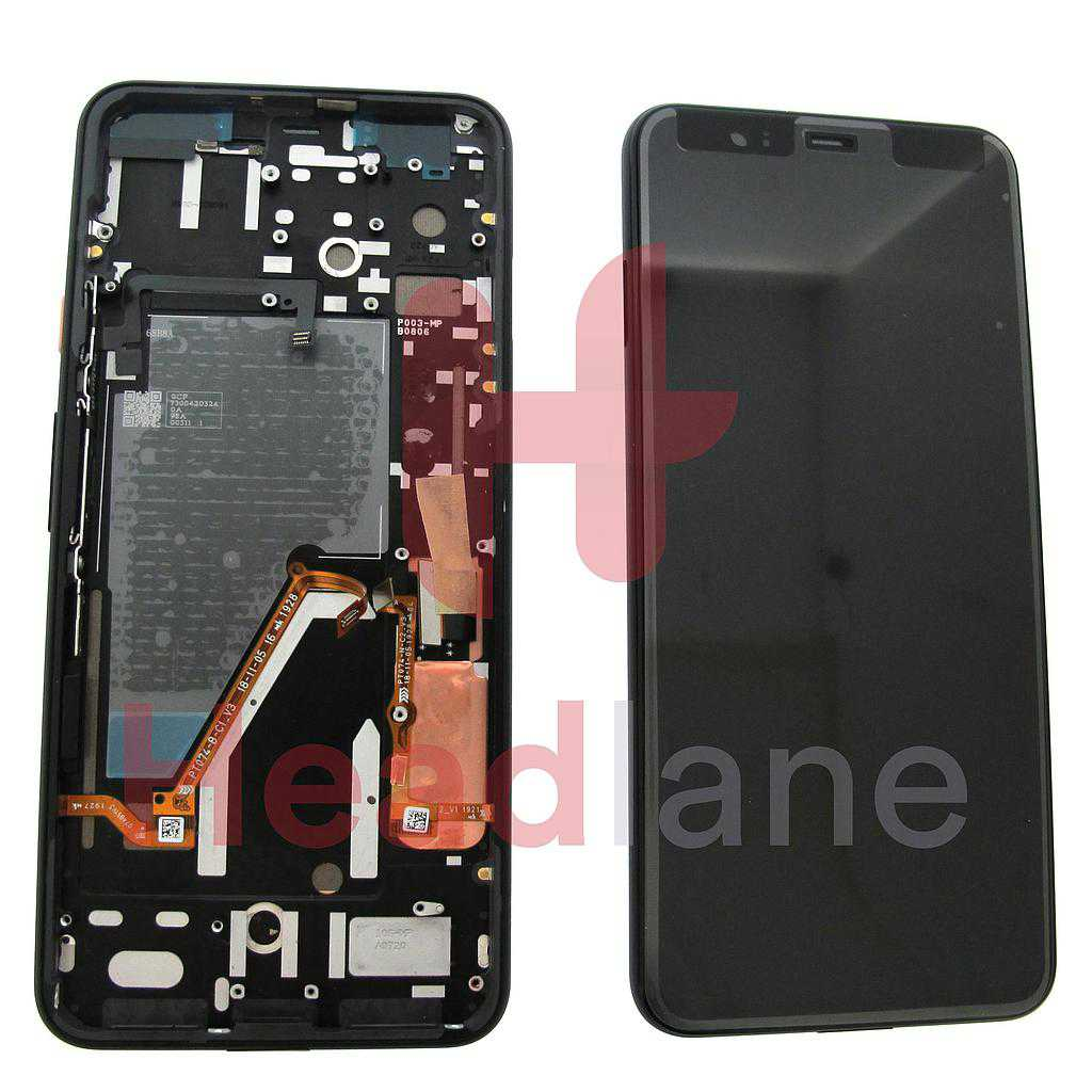 Google Pixel 4 XL LCD Display / Screen + Touch - Orange