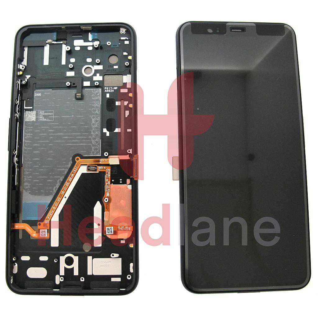 Google Pixel 4 XL LCD Display / Screen + Touch - Black