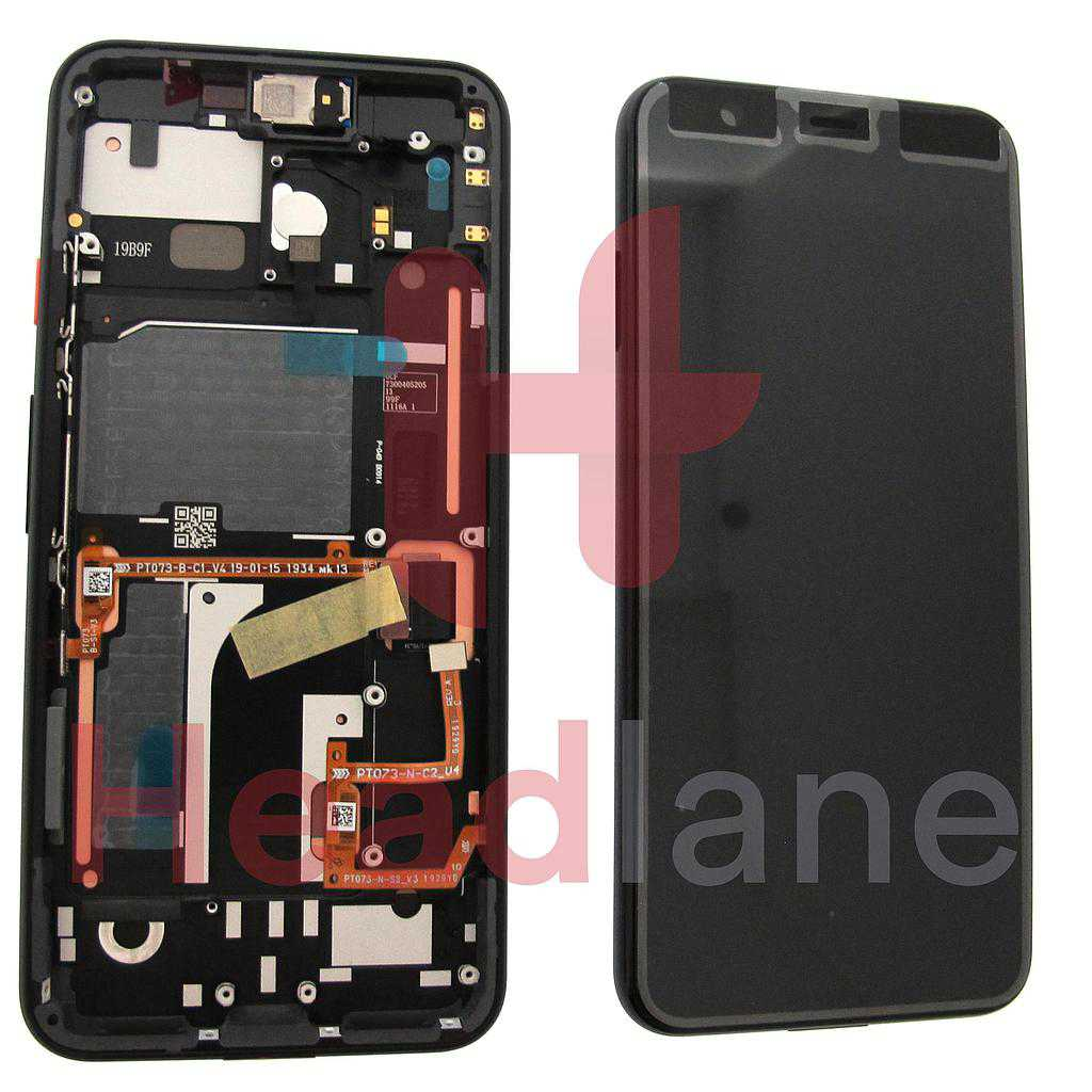 Google Pixel 4 LCD Display / Screen + Touch - White