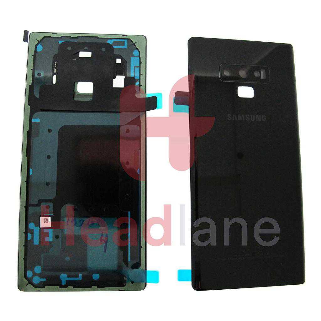Samsung SM-N960 Galaxy Note 9 Battery Cover - Black (No DS on Back)