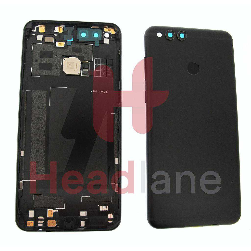 Huawei Honor 7X Back / Battery Cover - Black