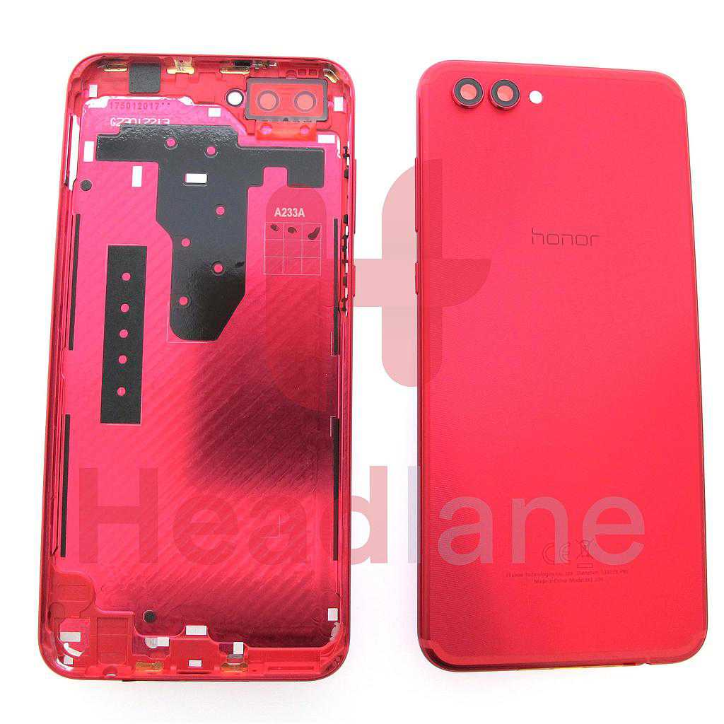 Huawei Honor View 10 Back / Battery Cover - Red