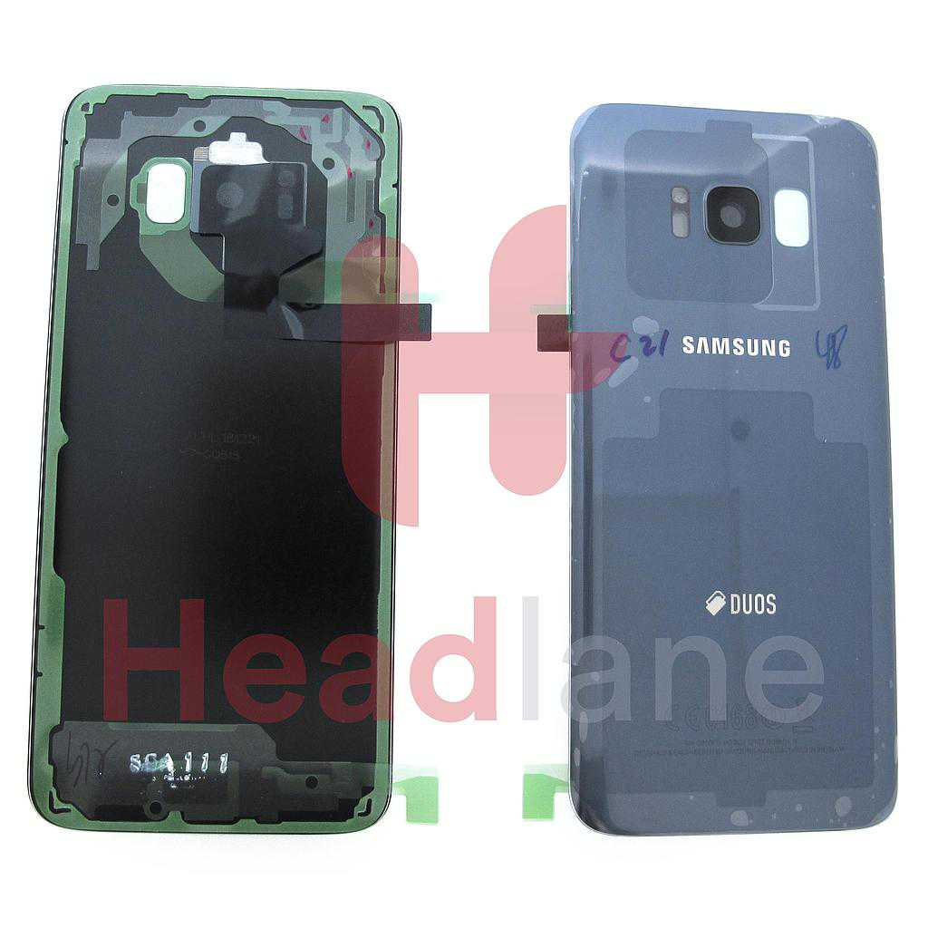 Samsung SM-G950 Galaxy S8 Back / Battery Cover - Orchid Grey (DUOS)