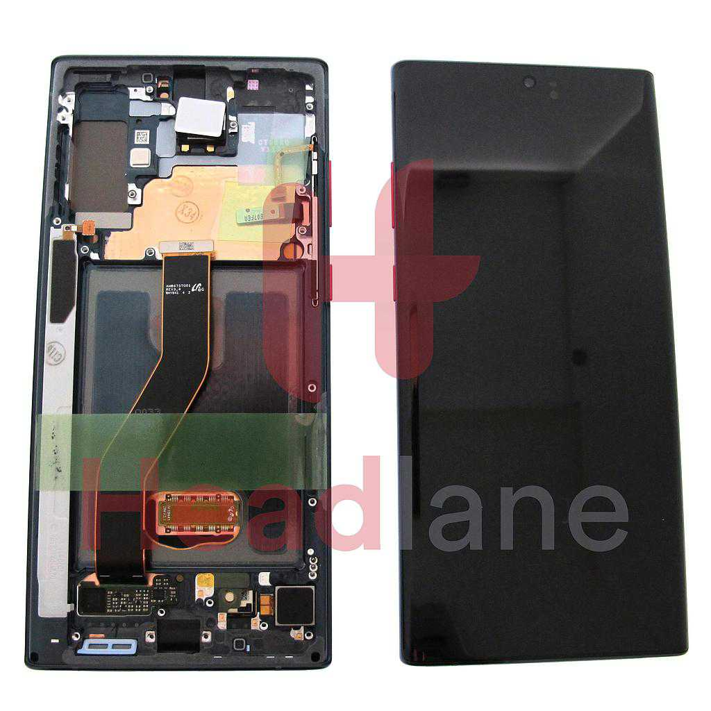 Samsung SM-N975 Galaxy Note 10+ / Note 10 Plus LCD Display / Screen + Touch - Red / Black (Star Wars)