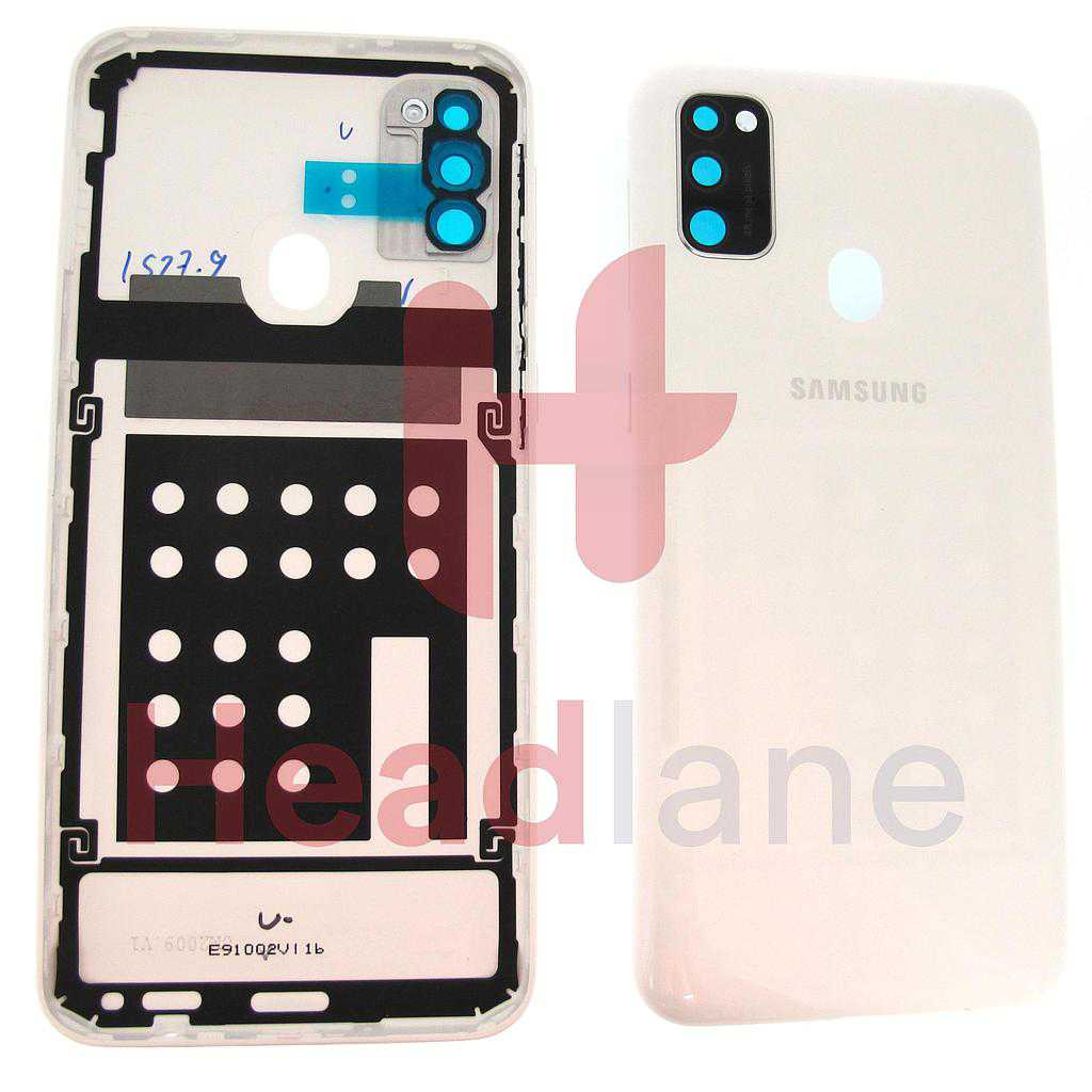 Samsung SM-M307 Galaxy M30s Back / Battery Cover - White