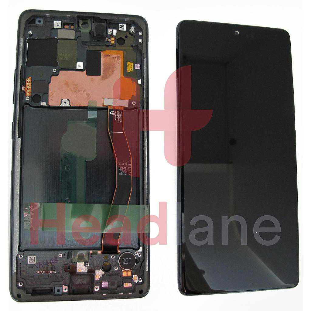 Samsung SM-G770 Galaxy S10 Lite LCD Display / Screen + Touch - Black