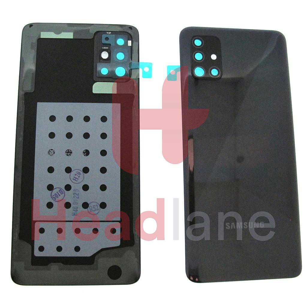 Samsung SM-A515 Galaxy A51 Back / Battery Cover - Black