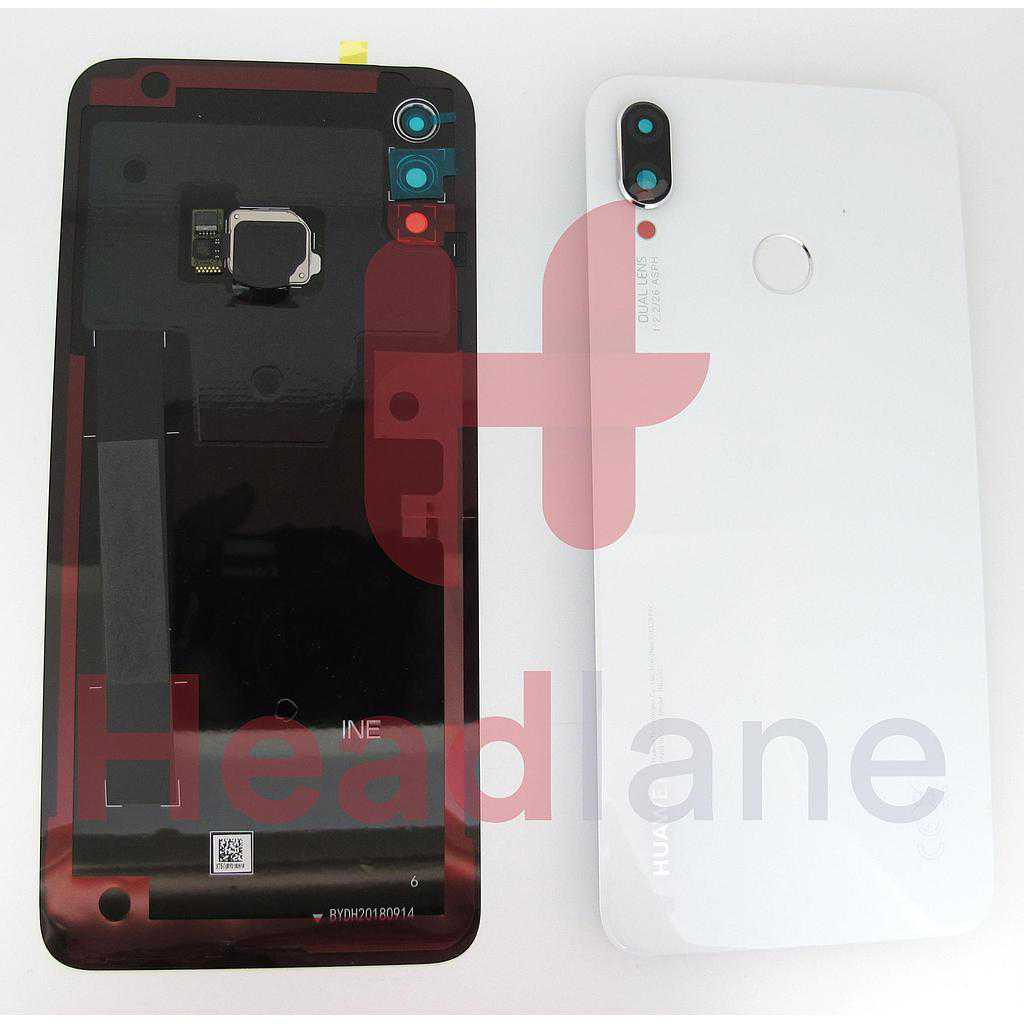 Huawei P Smart+ / P Smart Plus Back / Battery Cover - White
