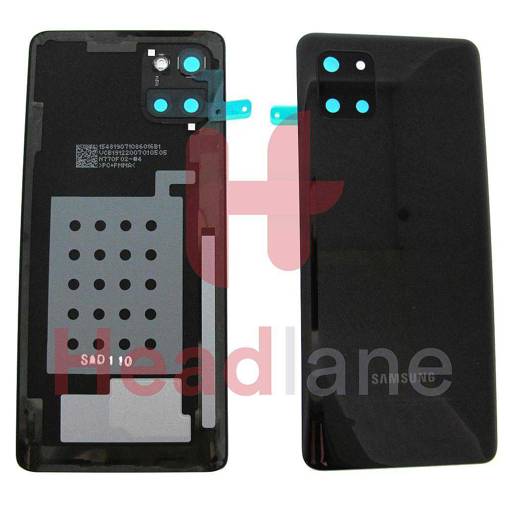 Samsung SM-N770 Galaxy Note 10 Lite Back / Battery Cover - Aura Black