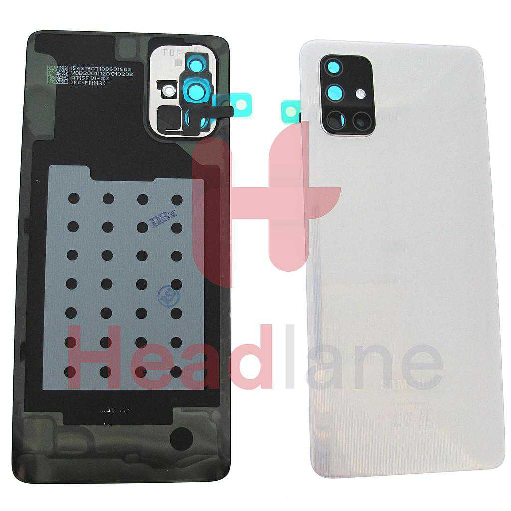 Samsung SM-A715 Galaxy A71 Back / Battery Cover - Silver