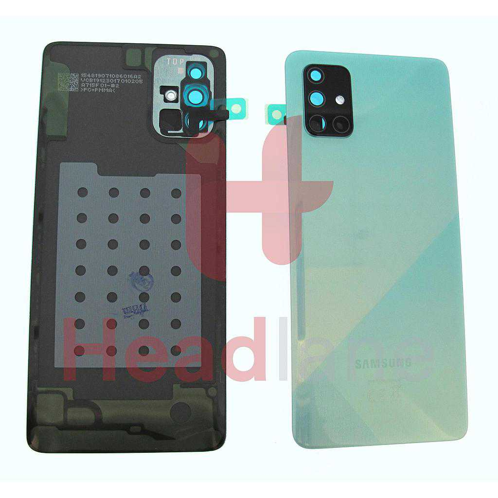 Samsung SM-A715 Galaxy A71 Back / Battery Cover - Blue