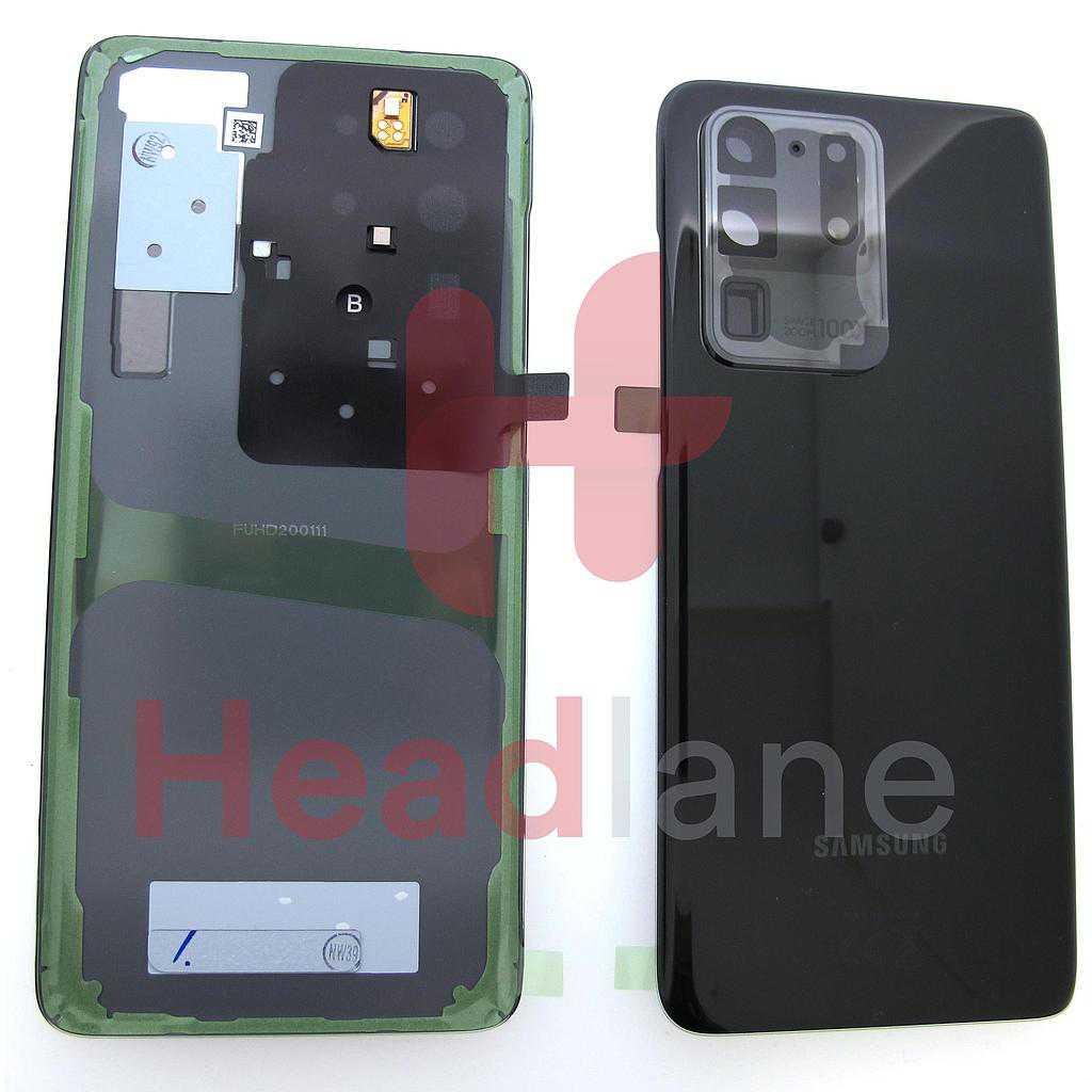 Samsung SM-G988 Galaxy S20 Ultra Back / Battery Cover - Black