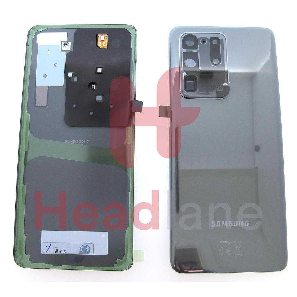 Samsung SM-G988 Galaxy S20 Ultra Back / Battery Cover - Grey