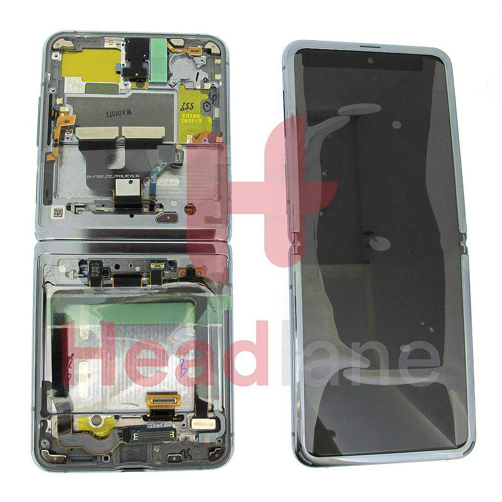 Samsung SM-F700 Galaxy Z Flip LCD Display / Screen + Touch - Thom Browne