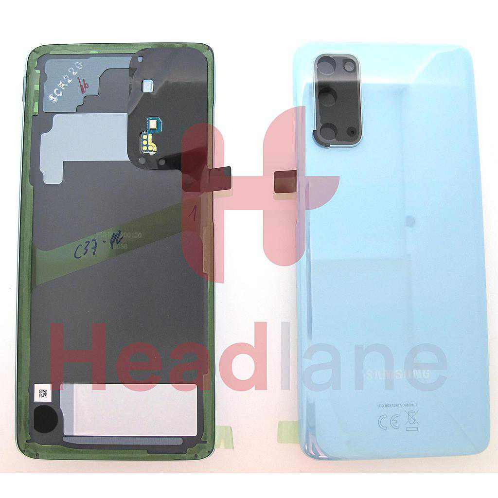 Samsung SM-G980 Galaxy S20 Back / Battery Cover - Blue