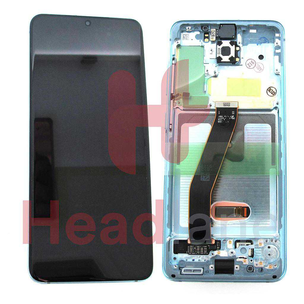 Samsung SM-G980 Galaxy S20 LCD Display / Screen + Touch - Blue