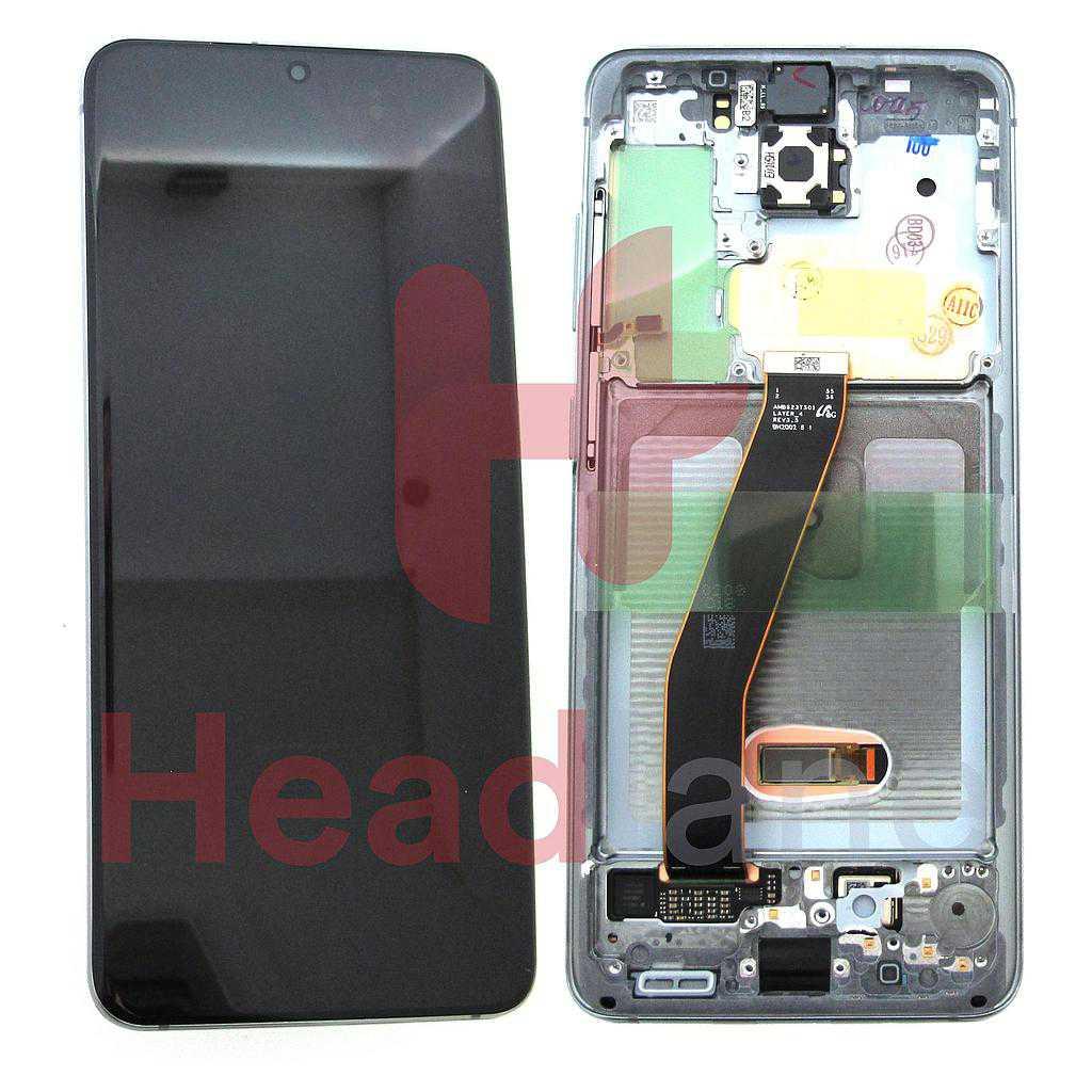 Samsung SM-G980 Galaxy S20 LCD Display / Screen + Touch - Grey