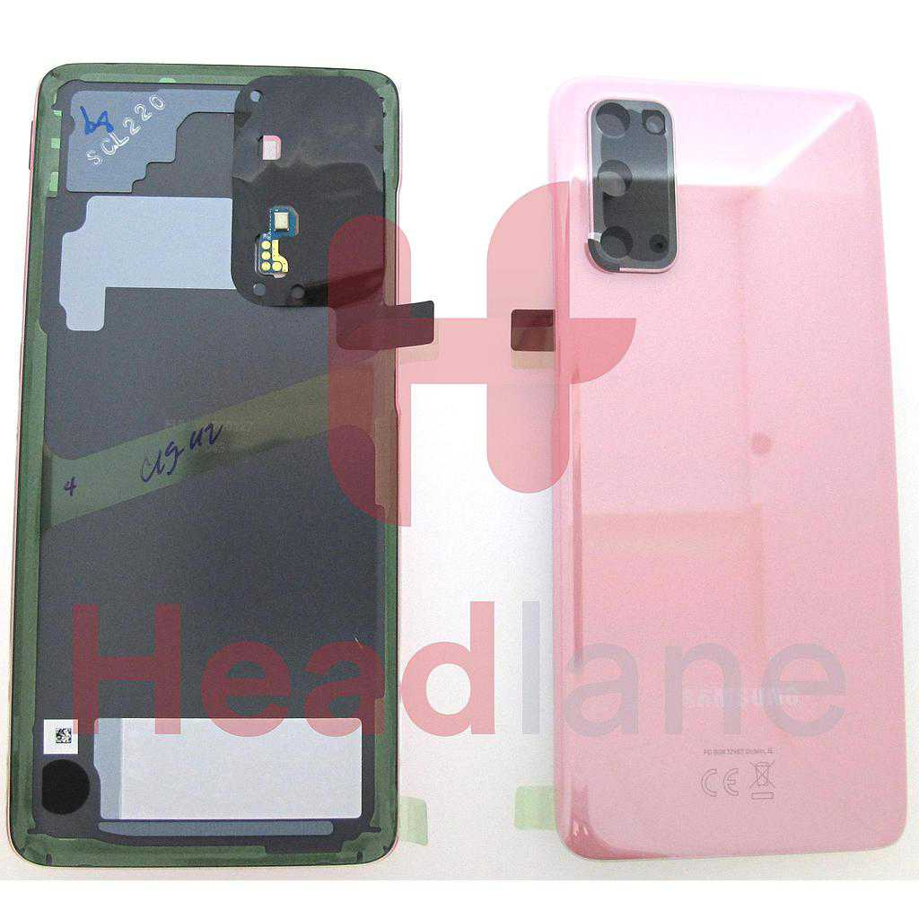 Samsung SM-G980 Galaxy S20 Back / Battery Cover - Pink