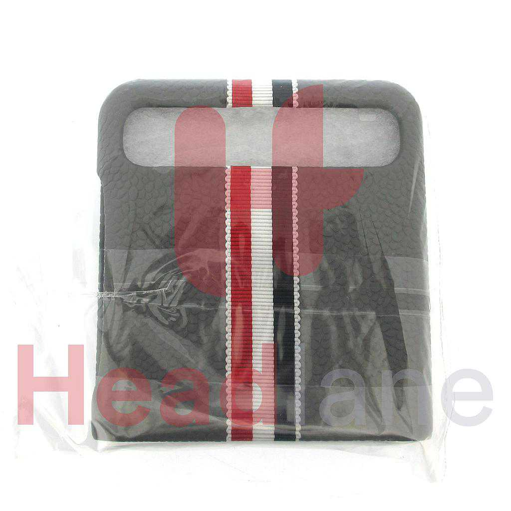 Samsung SM-F700 Galaxy Z Flip Leather Cover / Case - Thom Browne