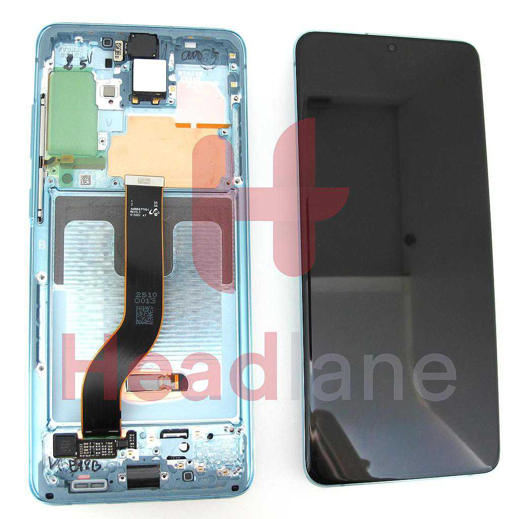 Samsung SM-G986 Galaxy S20+ / S20 Plus LCD Display / Screen + Touch - Cloud Blue