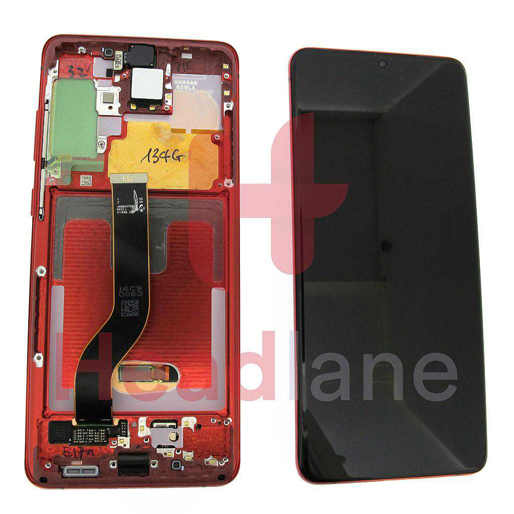 Samsung SM-G986 Galaxy S20+ / S20 Plus LCD Display / Screen + Touch - Red