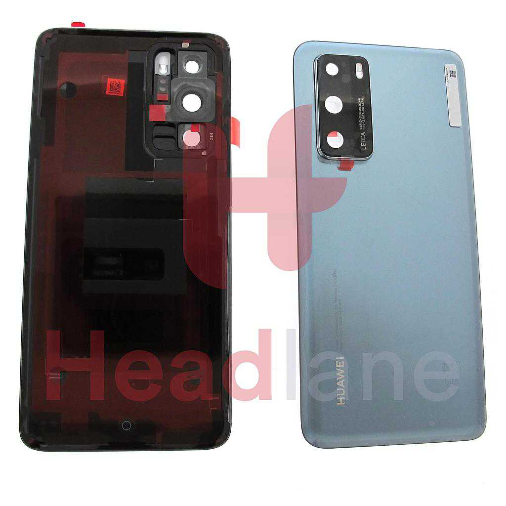 Huawei P40 Back / Battery Cover - Frost Silver