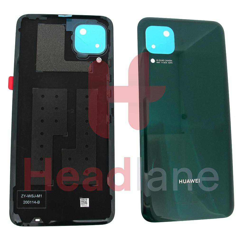 Huawei P40 Lite Back / Battery Cover - Crush Green