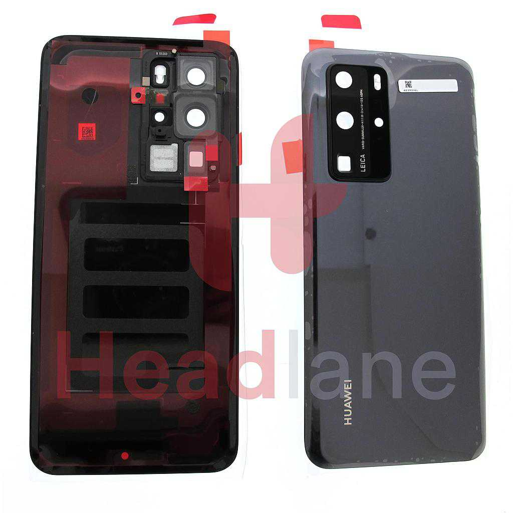 Huawei P40 Pro Back / Battery Cover - Black