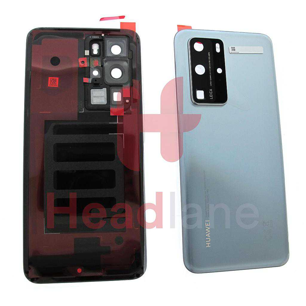 Huawei P40 Pro Back / Battery Cover - Silver Frost