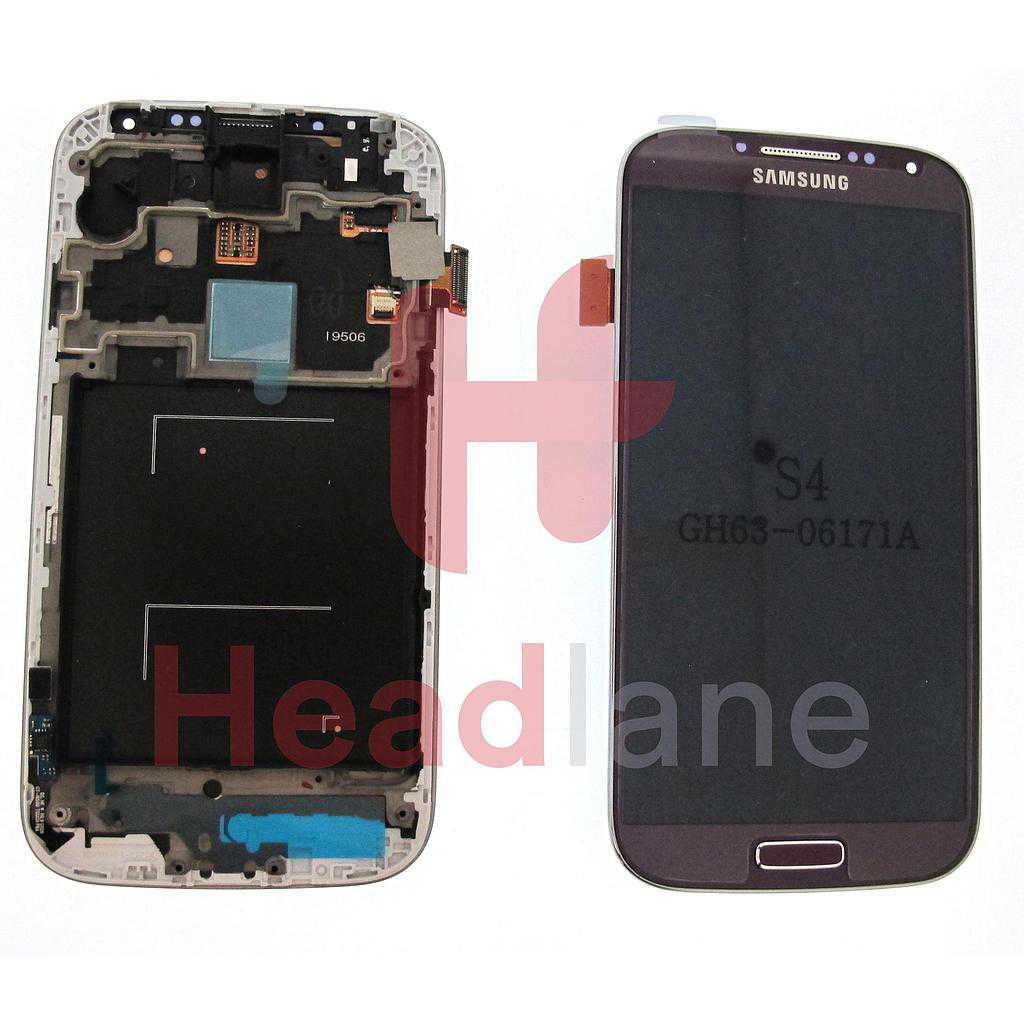 Samsung GT-I9506 Gakaxy S4 LTE+ LCD Display / Screen + Touch - Purple