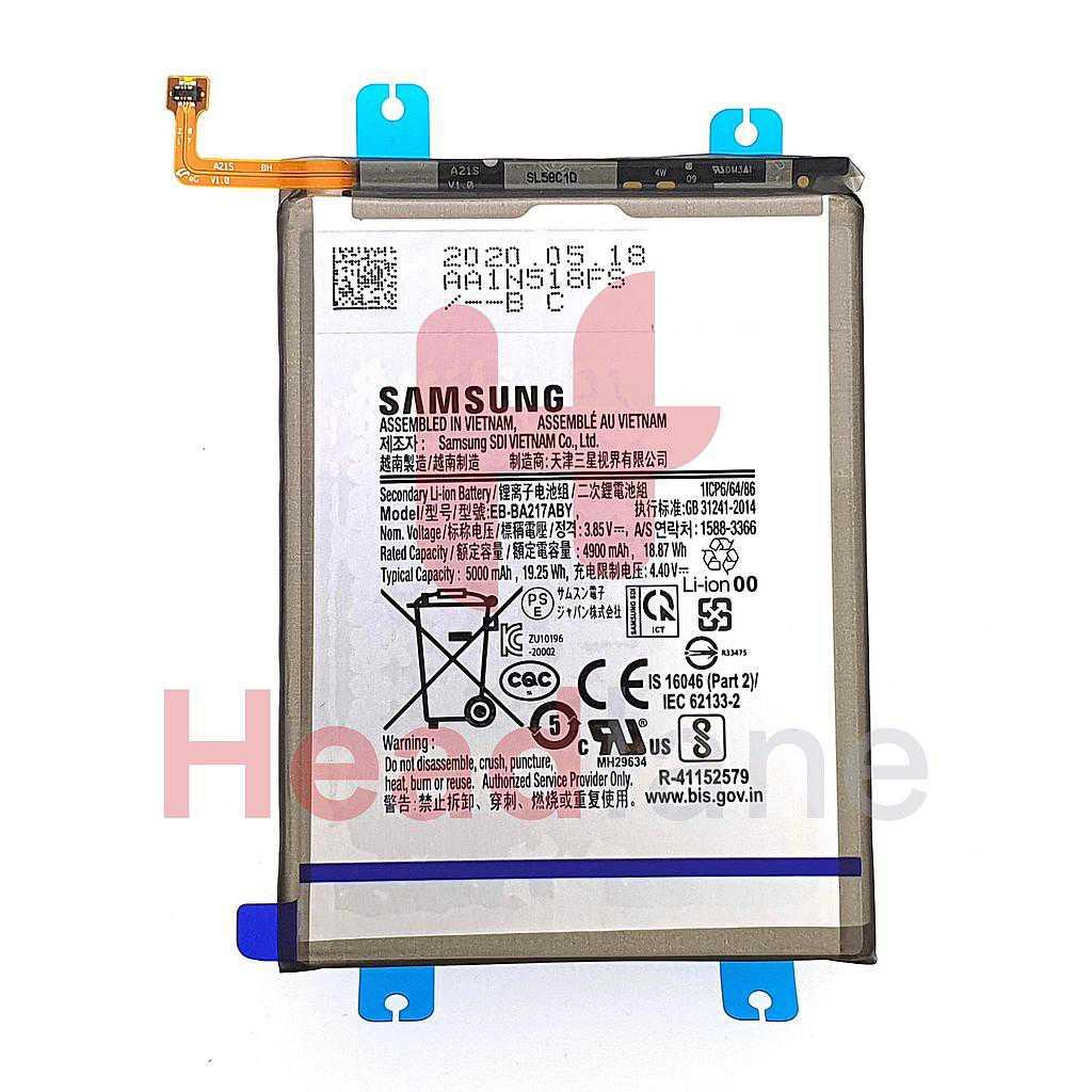 Samsung SM-A217 A125 Galaxy A21s A12 Internal Battery EB-BA217ABY