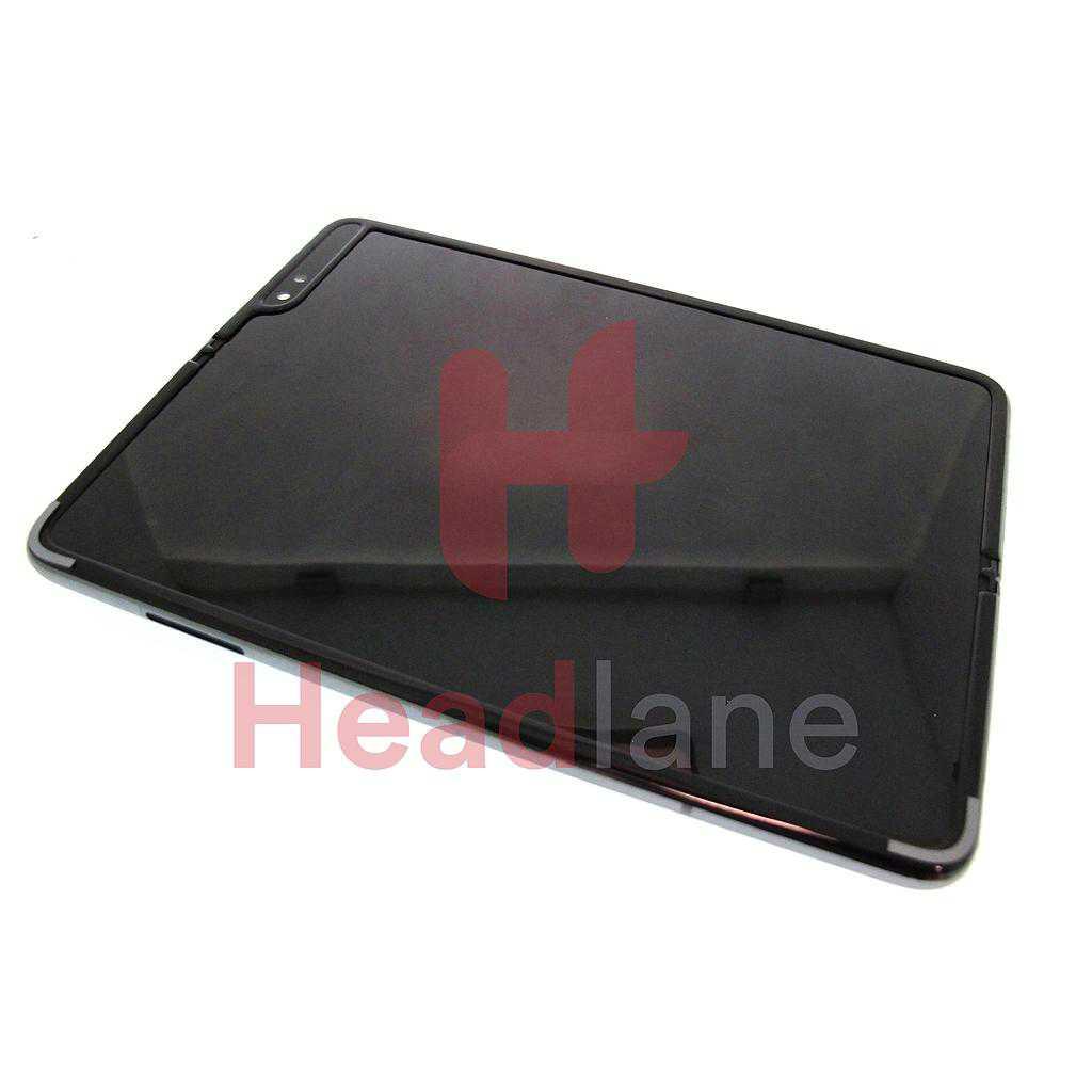 Samsung SM-F907 Galaxy Fold 5G LCD Display / Screen + Touch - Black
