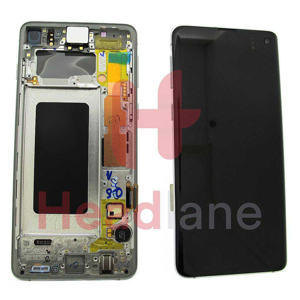 Samsung SM-G973 Galaxy S10 LCD Display / Screen + Touch - Silver