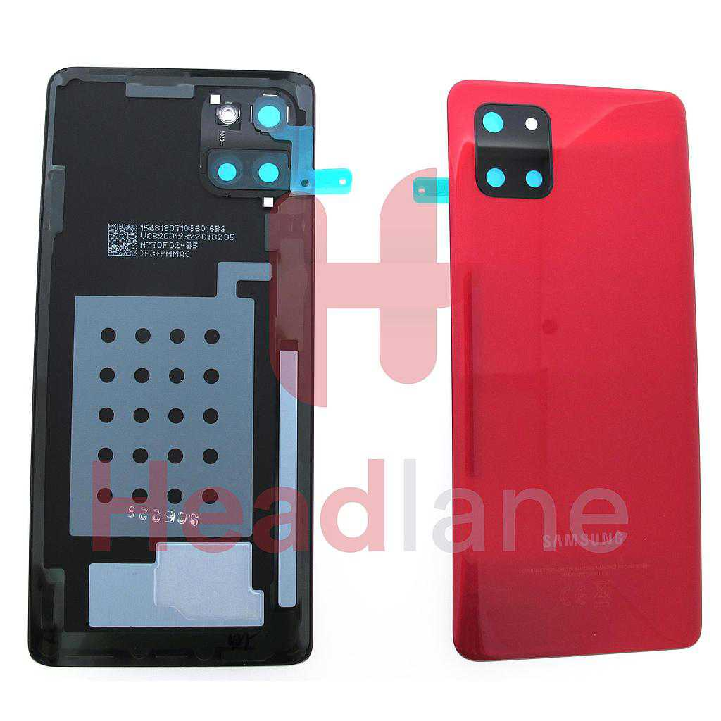 Samsung SM-N770 Galaxy Note 10 Lite Back / Battery Cover - Aura Red