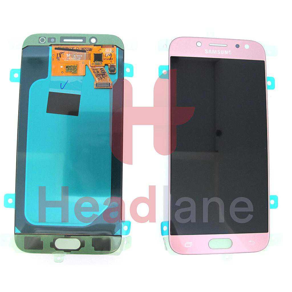 Samsung SM-J530 Galaxy J5 (2017) LCD Display / Screen + Touch - Pink