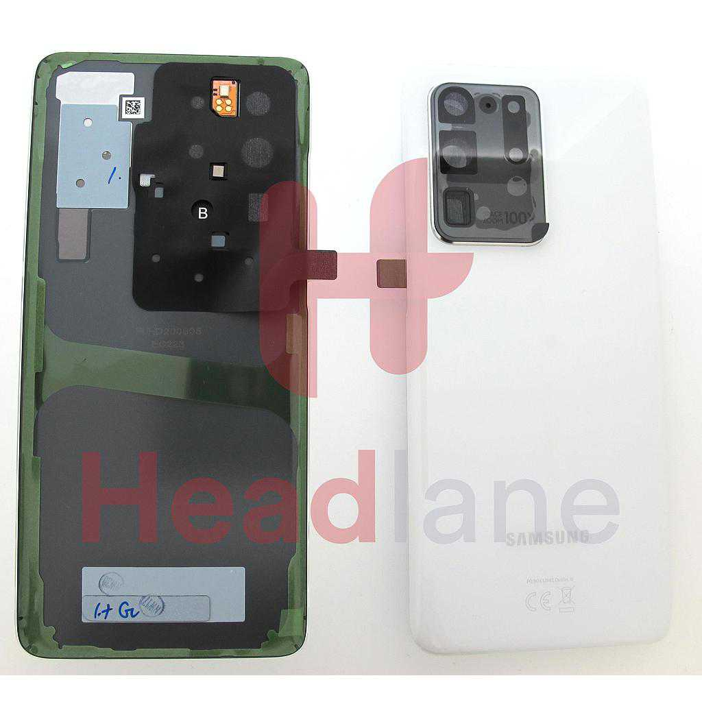 Samsung SM-G988 Galaxy S20 Ultra Back / Battery Cover - White