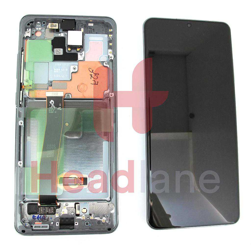 Samsung SM-G988 Galaxy S20 Ultra LCD Display / Screen + Touch - Grey