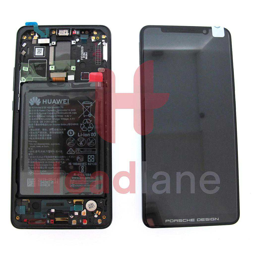 Huawei Mate 10 Pro LCD Display / Screen + Touch + Battery - Porsche Design / Black