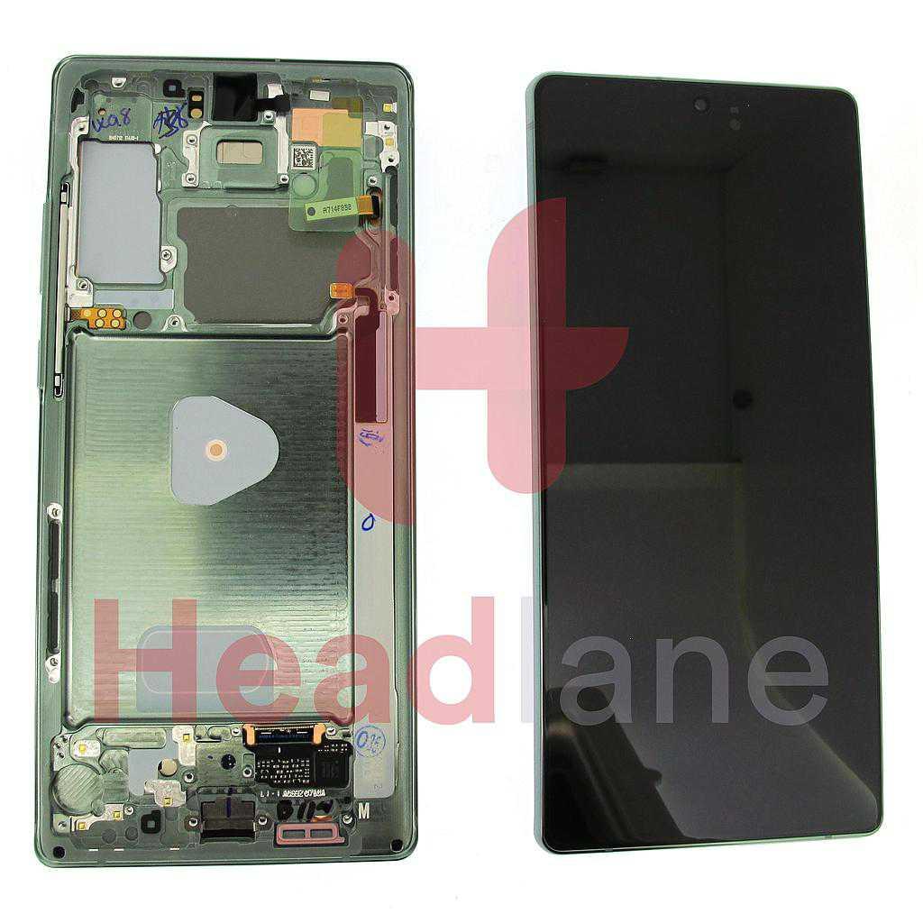Samsung SM-N980 SM-N981 Galaxy Note 20 LCD Display / Screen - Green