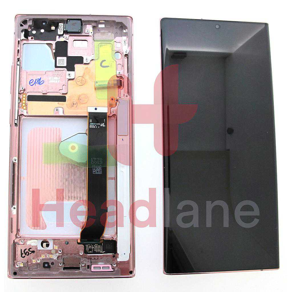 Samsung SM-N986 Galaxy Note 20 Ultra 5G LCD Display / Screen + Touch - Bronze
