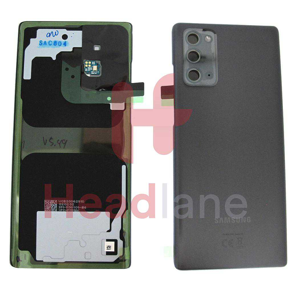 Samsung SM-N981 Galaxy Note 20 5G Back / Battery Cover - Grey