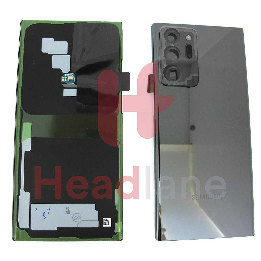 Samsung SM-N986 Galaxy Note 20 Ultra 5G Back / Battery Cover - Black