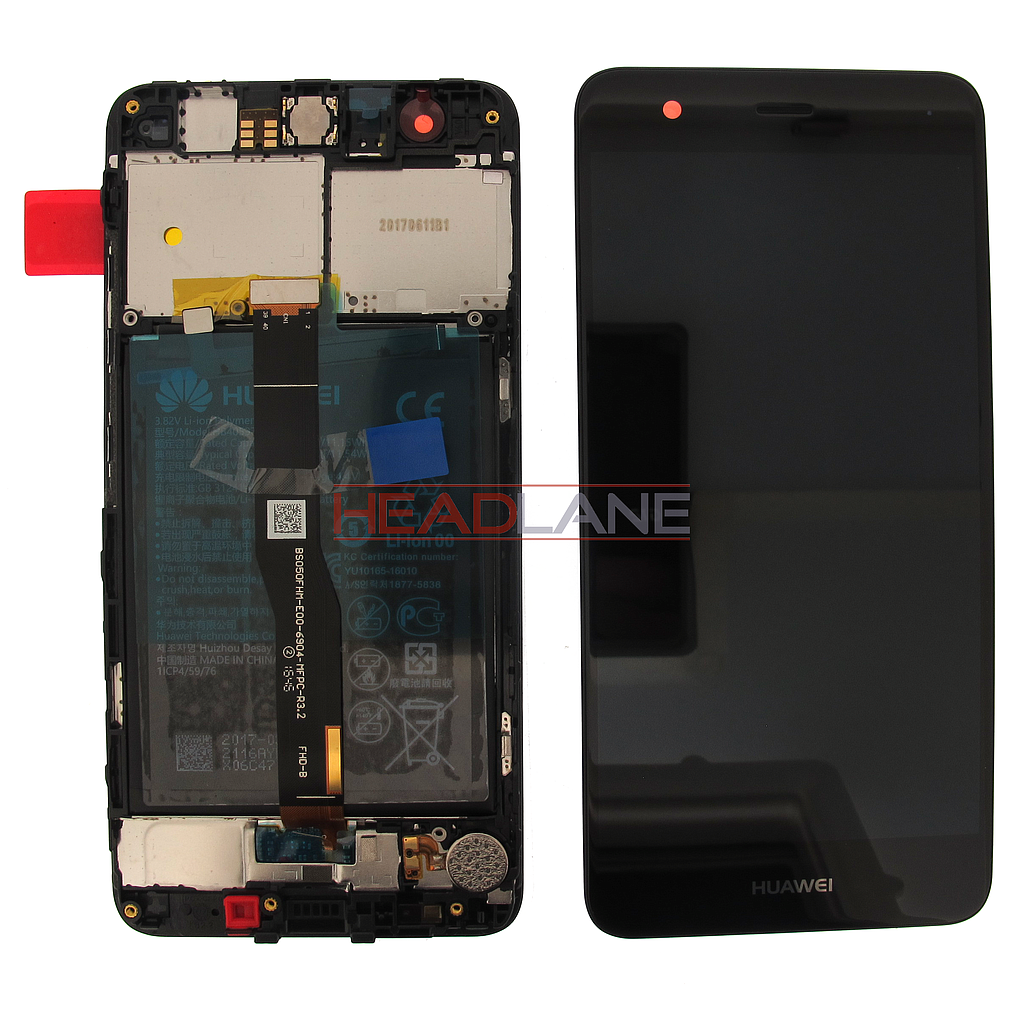 Huawei Nova CAN-L11 LCD Display / Screen + Touch  + Battery Assembly - Black / Gold / Grey