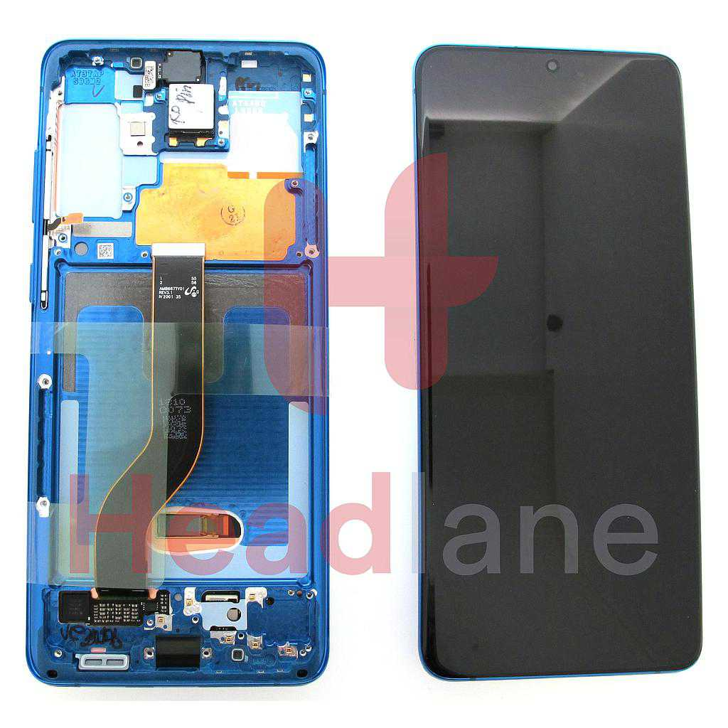Samsung SM-G986 Galaxy S20+ / S20 Plus LCD Display / Screen + Touch - Aura Blue