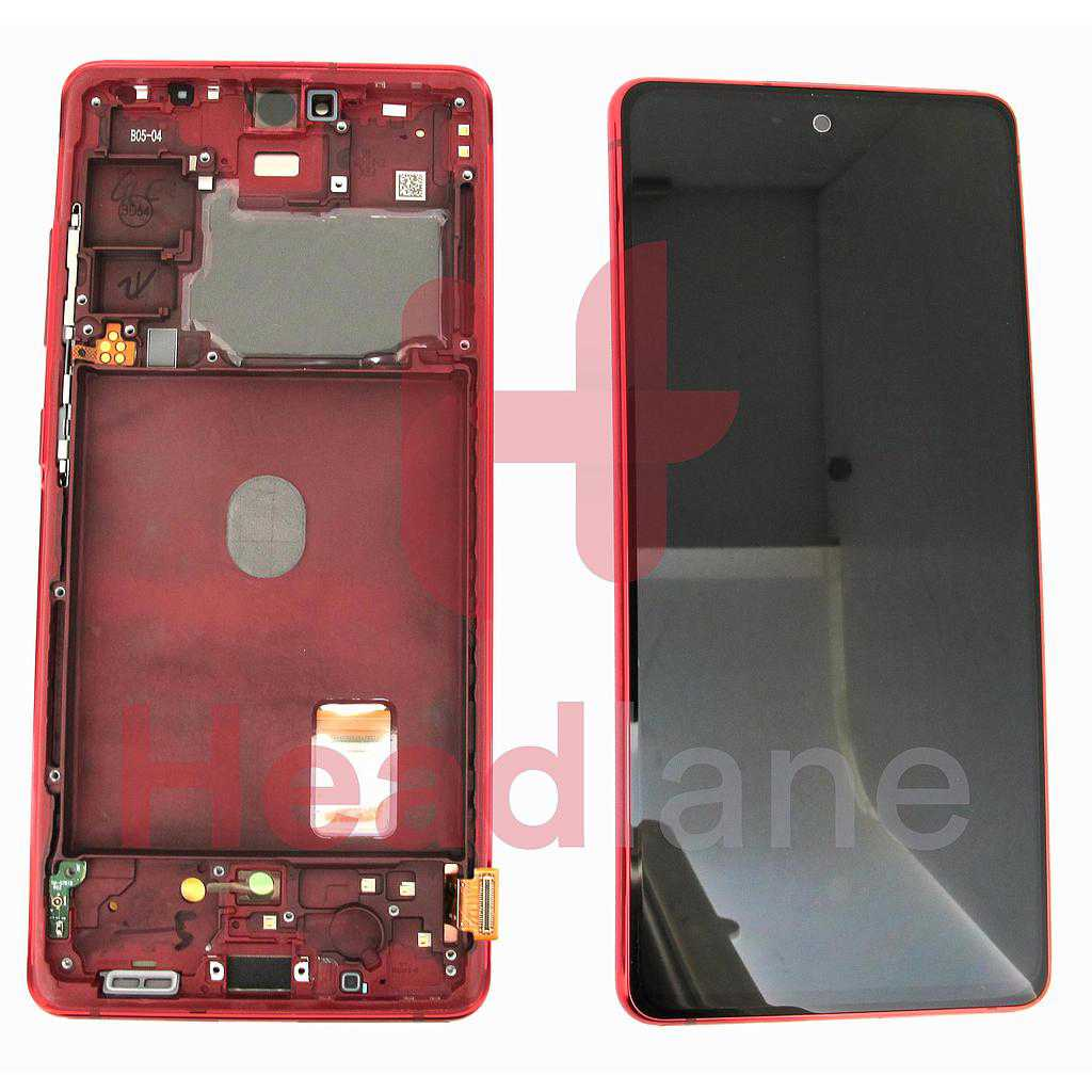 Samsung SM-G781 Galaxy S20 FE 5G LCD Display / Screen + Touch - Cloud Red