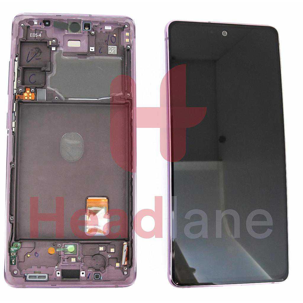 Samsung SM-G781 Galaxy S20 FE 5G LCD Display / Screen + Touch - Cloud Lavender