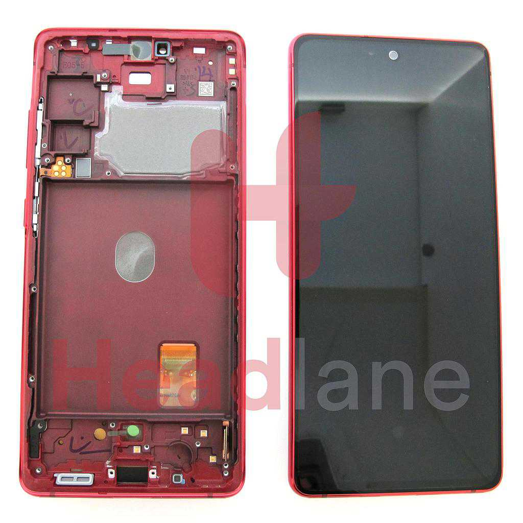Samsung SM-G780 Galaxy S20 FE 4G LCD Display / Screen + Touch - Cloud Red