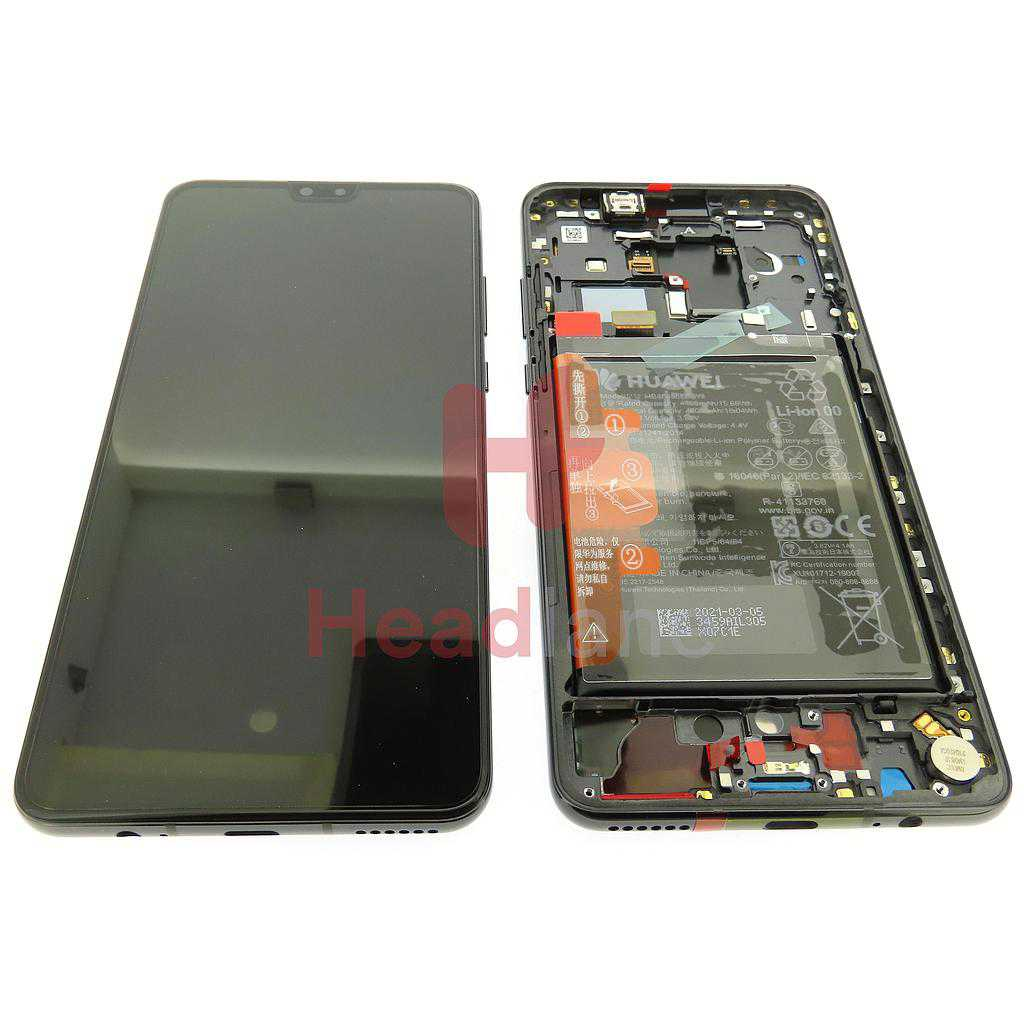 Huawei Mate 30 LCD Display / Screen + Touch + Battery - Black