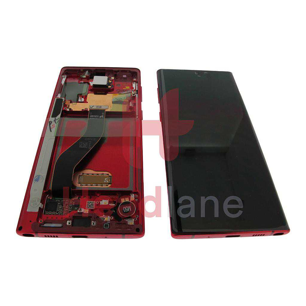 Samsung SM-N970 Galaxy Note 10 LCD Display / Screen + Touch - Aura Red